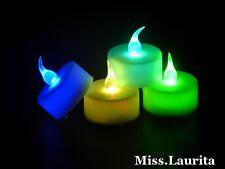 1 Bougie LED Multicolore pour Fete Mariage Anniversaire Décoration Maison BLM1