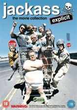 Jackass 1-3 Movie Collection (DVD, 2013, 5-Disc Set, Box-Set)