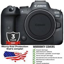 Canon EOS R6 Mirrorless Digital Camera with 3 Year Accidental Warranty