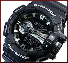 Casio G-Shock Mens Wrist Watch GA400GB-1A  GA400GB-1A Rotary Switch Black Silver
