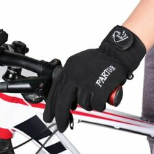 Bicycle Touch Screen Sports Windproof Cycling Warm Full Finger Glove Width 10cm
