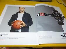 TONY PARKER - Publicité de magazine / Advert !!! MONTRE !!!