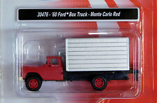Classic Metal Works 1/87 HO 1960 Ford Box Truck Monteo Carlo Red 30476