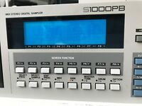 AKAI S1000PB Sampler Synthesizer with SCSI CD-ROM