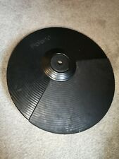 More details for roland cy-8 dual trigger cymbal pad for hd-1 electronic drums