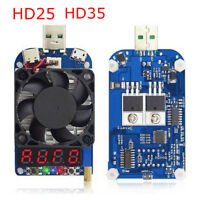 HD35 HD25 Intelligent Trigger Electronic USB Load Quick Battery Charging Tester