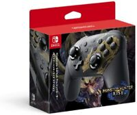 Nintendo Switch Monster Hunter Rise Special Edition Game controller Black Japan