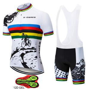 2021 Hot X-CQREG Men's Cycling Jerseys Set Ropa Ciclismo Hombre MTB Maillot