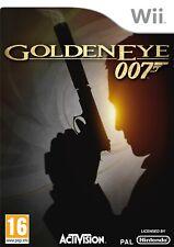 007 GOLDENEYE NINTENDO WII UK PAL GAME **FREE FAST P&P**