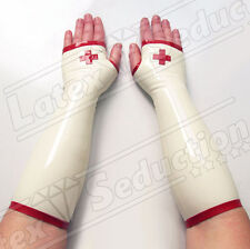 CLINICAL LATEX NURSE GLOVES Rubber Gummi Handschuhe Latexhandschuhe
