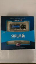Sirius Satellite Radio- Starmate 4 - Sirius Car Satellite Radio Kit- Open Box-