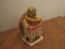 Harmony Kingdom 1997 Wishful Thinking Trinket Box Tortoise W/Birthday Cake W/Box