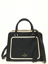 NWT Kate Spade Leather Evangelie Ward Place Satchel Handbag Shoulder Bag Black
