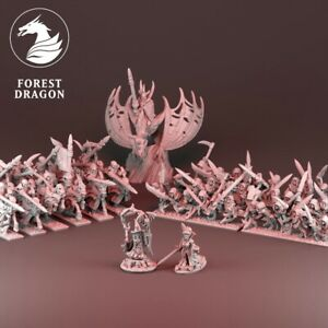 Vampire Counts Starter Force - 10mm - Warmaster - Kings of War - Forest Dragon M