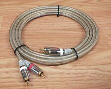 Sin Marca / Genérico Audio & Vídeo (Rojo & Blanco) Transparente con Cable Solo