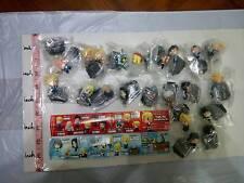 Bandai Fullmetal Alchemist petit mini Gashapon Figure Part 1 & 2 total 21 pcs