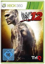 WWE 12  (Xbox 360)  NEU & OVP