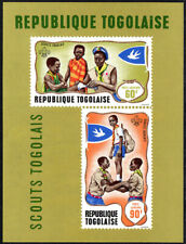 Togo C98a S/S, MNH. Boy Scouts. First aid practice, Scout game, 1968