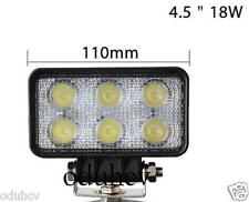 LED 24v 12v Proyector PUNTO 18w BARRA LUCES todoterreno 4wd barco coche