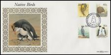 NEW ZEALAND 1988 BENHAM SILK FDC BIRDS (ID:14/D44104)