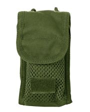New Olive Green Padded Ipod/iPhone Mobile Case Pouch with Molle Fixing Tabs