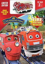 Chuggington: Fire Patrol Rescue (DVD + Train) (Widescreen) 2015 / New & Sealed