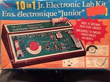 10 in 1 Jr. Electronic Lab Kit Science fair