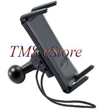 "25mm17mm-sm632 Motorcycle Handlebar Secure Mount with 1""RAM Ball for iPhone 10 X"