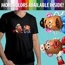 Mens Unisex Tee VNeck T-Shirt Disney Toy Story Mr Mrs Potato Head Couple Cartoon