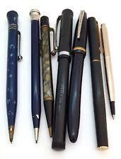 Vintage Fountain Ballpoint Mechanical Pencil Wahl Eversharp Duro Point Pen Lot