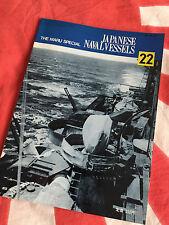 IJN SUZUYA KUMANO Japanese Navy Heavy Cruisers Vintage MARU SPECIAL Book Vol 22