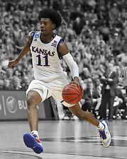 Kansas Jayhawks JOSH JACKSON Glossy 8x10 Photo Spotlight Poster Phoenix Suns