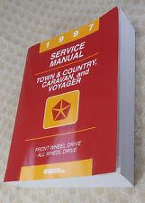1997 Town & Country, Caravan, Voyager 2.4L 3.0L 3.3 3.8L Service Repair Manual