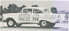 Stahl Total Tuned Headers 1957 Chevrolet 1/64th Ho Scale Slot Car Decals