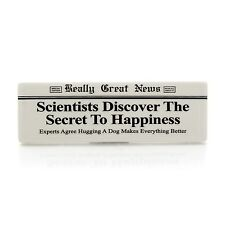 Really Great News 4037227 The Secret to Happiness Plaque
