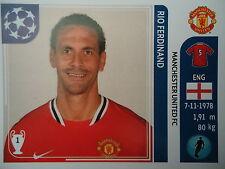 Panini 144 Rio Ferdinand Manchester United UEFA CL 2011/12
