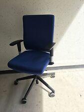 Dauphin Drehstuhl Bürostuhl Blau