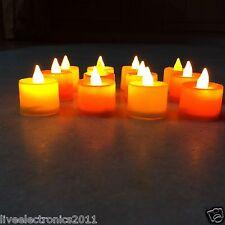 6PC LED TeaLights CANDLES Diya Deepak LED Light Diwali Home decoration LED Light