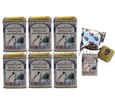 ALMIZCLE EN PIEDRA 6 x 25 gr AMBER MUSK JAMID PERFUME SOLIDO NATURAL SIN ALCOHOL