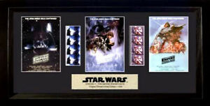 Star Wars Episode V: The Empire Strikes Back Framed Trio Film Cell Presentation