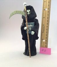Dollhouse miniature 1/12th scale grim reaper with scythe  by Jan Smith #2