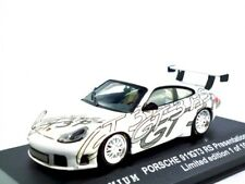Porsche 911 (996) gt3 RS presentation 2001 blanco/triple 9 premium 1:43