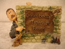"""Boyds Bears """"Uncle Bean & the McNibble Gang"""" sign Treasured Memories NWT #3999"""