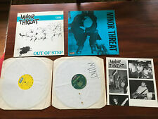 Lot / Collection Minor Threat ST / Out of Step $4 / $3.50 Vinyl Record Album