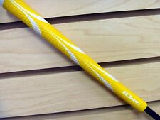 NEW ONE IOMIC STICKY OPUS 3 YELLOW/WHITE GOLF GRIP