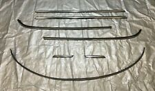 2007-2013 Mini Cooper R56 Hatchback Body Line Moulding Trim Set / Chrome / R2008