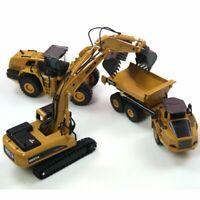 HUINA 1:50 dump truck excavator Wheel Loader Diecast Metal Model Construction Ve