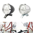 Useful Vintage Bicycle Bike Front Light Bracket 3LED Headlight Lamp Accessories