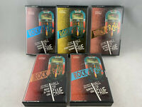 Vintage Rock and Roll Hall of Fame Cassette Lot of 5