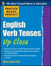 Practice Makes Perfect English Verb Tenses Up Close (Practice Makes-ExLibrary